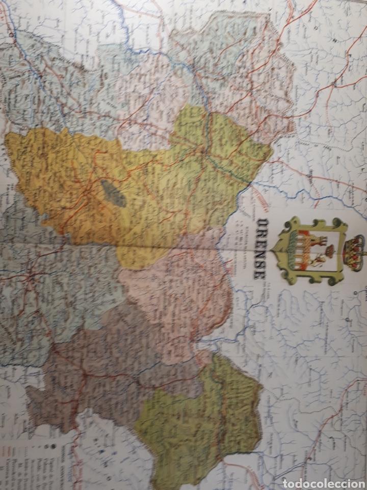 ORENSE 1905 (Coleccionismo - Mapas - Mapas actuales (desde siglo XIX))