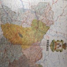 Mapas contemporáneos: ORENSE 1905. Lote 155515276