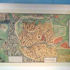 Mapas contemporáneos: DIFÍCIL PLANO COROGRAPHICO DEL NUEVO REYNO DE TOLEDO.FRANCISCO ÁLVAREZ BARREIRO CA.1727. Lote 155640812