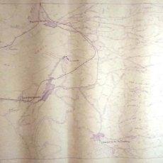 Mapas contemporáneos: MAPA. PROVINCIA DE CADIZ. CADIZ, SAN FERNANDO Y PUERTO REAL.. Lote 156004638