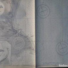 Mapas contemporáneos: MAPA NAUTICO APPROACHES PORT ELIZABETH. CORRECCIONES 1964. Lote 156262642