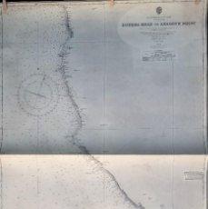 Mapas contemporáneos: MAPA NAUTICO BODEGA HEAD TO ABALONE POINT. Lote 156273434
