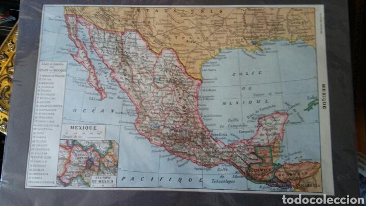 MAPA MEXICO (Coleccionismo - Mapas - Mapas actuales (desde siglo XIX))