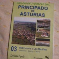 Mapas contemporáneos: ORTOFOTOMAPAS PRINCIPADO DE ASTURIAS - VILLAVICIOSA -3. Lote 157537594