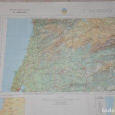 Mapas contemporáneos: MAPA MILITAR SALAMANCA. Lote 158088522
