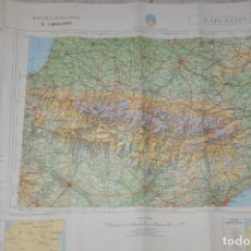 Mapas contemporáneos: MAPA MILITAR BARCELONA. Lote 158088546