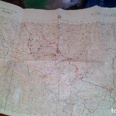 Mapas contemporáneos: CARTOGRAFIA MILITAR DE ESPAÑA - MAPA DE POZO ALCON (JAEN) - ESCALA 1:50.000. Lote 158403142