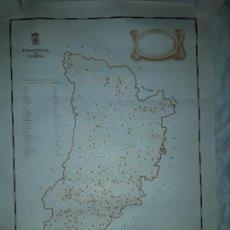 Mapas contemporáneos: MAPA PROVINCIA DE LERIDA. Lote 160166418
