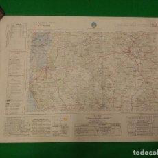 Mapas contemporáneos: MAPA MILITAR DE ESPAÑA ESCALA 1: 50.000 - CHICLANA DE LA FRONTERA - MEDIDAS 80X50 CM.. Lote 160241338