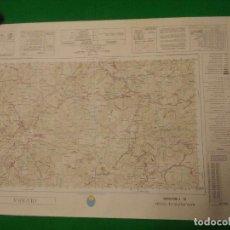 Mapas contemporáneos: MAPA MILITAR DE ESPAÑA ESCALA 1: 50.000 - OLVERA - MEDIDAS 80X50 CM.. Lote 160241494