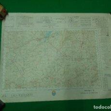 Mapas contemporáneos: MAPA MILITAR DE ESPAÑA ESCALA 1: 50.000 - MONTELLANO - MEDIDAS 80X50 CM.. Lote 160241726