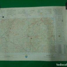 Mapas contemporáneos: MAPA MILITAR DE ESPAÑA ESCALA 1: 50.000 - UBRIQUE - MEDIDAS 80X50 CM.. Lote 160242014