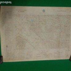 Mapas contemporáneos: MAPA MILITAR DE ESPAÑA ESCALA 1: 50.000 - TAHIVILLA - MEDIDAS 80X50 CM.. Lote 160242574