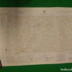 Mapas contemporáneos: MAPA MILITAR DE ESPAÑA ESCALA 1: 50.000 - TAHIVILLA - MEDIDAS 80X50 CM.. Lote 160242778
