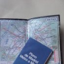 Mapas contemporáneos: LOTE DE MAPA DE METRO DE MADRID Y DE PARIS 1984. Lote 160615590