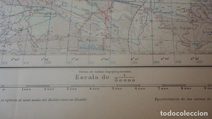 Mapas contemporáneos: ANTIGUO MAPA.ALMACELLAS.LERIDA.EDICION MILITAR 1952 - Foto 4 - 160623370