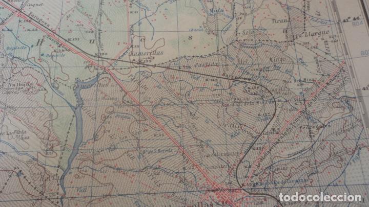 Mapas contemporáneos: ANTIGUO MAPA.ALMACELLAS.LERIDA.EDICION MILITAR 1952 - Foto 5 - 160623370