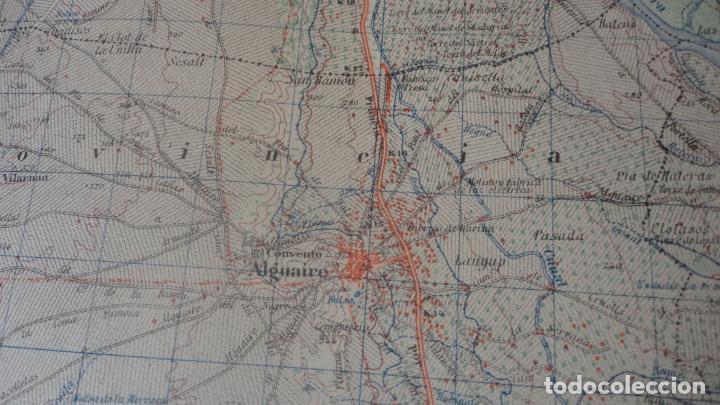 Mapas contemporáneos: ANTIGUO MAPA.BALAGUER.LERIDA EDICION MILITAR 1953 - Foto 5 - 160623830