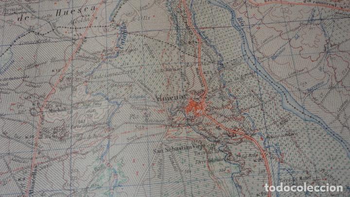 Mapas contemporáneos: ANTIGUO MAPA.BALAGUER.LERIDA EDICION MILITAR 1953 - Foto 6 - 160623830