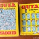Mapas contemporáneos: GUÍA URBANA DE MADRID AÑO 1973.- TOMOS I Y II. Lote 160876302