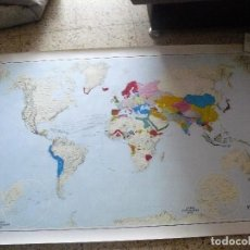 Mapas contemporáneos: MAPA. EL MUNDO EN 1492, 1993. IGN.. Lote 161243374