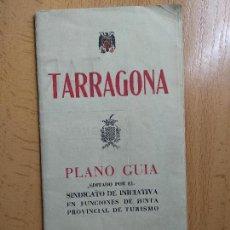 Mapas contemporáneos - PLANO GUIA DE TARRAGONA AÑO 1948 - 161492586
