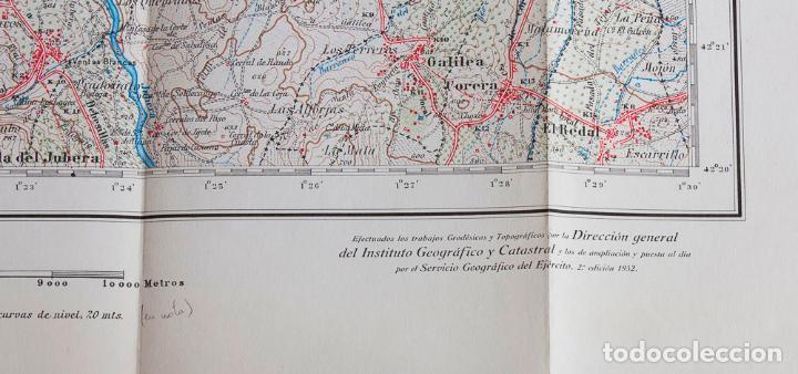 Mapas contemporáneos: MAPA 1/50000 DE LOGROÑO. 2ª EDICION 1952. CUADRICULA 204 - Foto 2 - 161988750