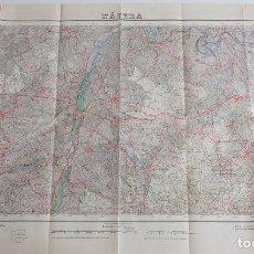 Mapas contemporáneos: MAPA 1/50000 DE NAJERA, LA RIOJA. AÑO 1952. 2ª EDICION. CUADRICULA 203. Lote 161989014