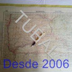 Mapas contemporáneos: TUBAL RIPOLL MAPA MILITAR 1950 CARTOGRAFIA. Lote 162407330