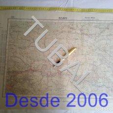 Mapas contemporáneos: TUBAL OLOT MAPA MILITAR 1950 CARTOGRAFIA. Lote 162407650