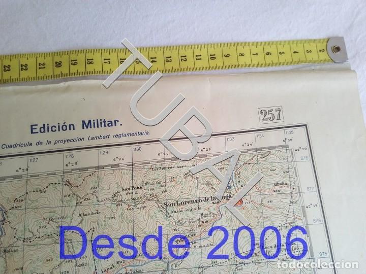 Mapas contemporáneos: TUBAL OLOT MAPA MILITAR 1950 CARTOGRAFIA - Foto 4 - 162407650