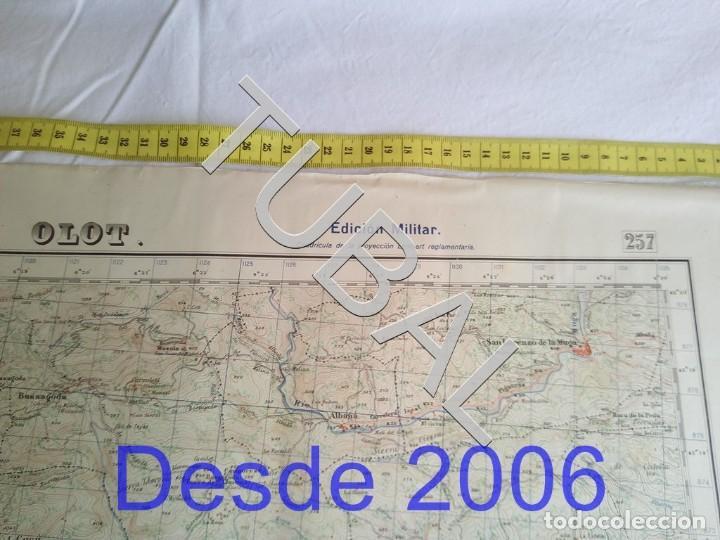 Mapas contemporáneos: TUBAL OLOT MAPA MILITAR 1950 CARTOGRAFIA - Foto 5 - 162407650