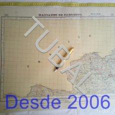 Mapas contemporáneos: TUBAL MASSANET DE CABRENYS MAPA MILITAR 1948 CARTOGRAFIA. Lote 162407870