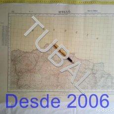 Mapas contemporáneos: TUBAL VERGES MAPA MILITAR 1951 CARTOGRAFIA. Lote 162409186