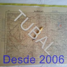 Mapas contemporáneos: TUBAL BAÑOLAS MAPA MILITAR 1951 CARTOGRAFIA 1951. Lote 162409542