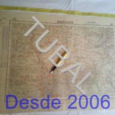 Mapas contemporáneos: TUBAL MANLLEU MAPA MILITAR 1951 CARTOGRAFIA 1951. Lote 162409830