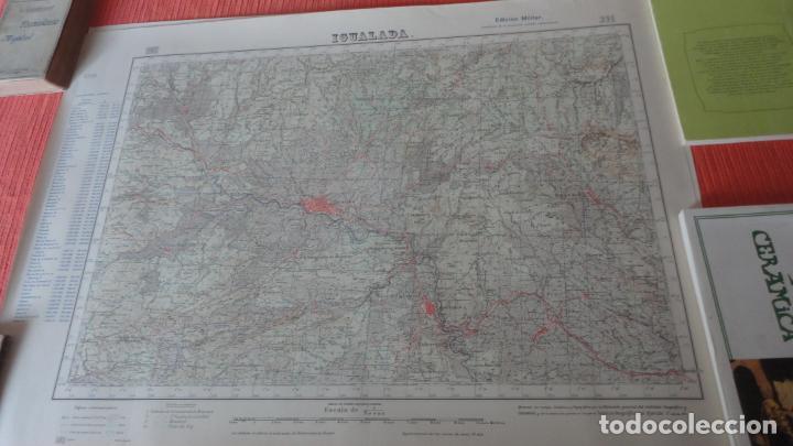 ANTIGUO MAPA IGUALADA.BARCELONA EDICION MILITAR 1950 (Coleccionismo - Mapas - Mapas actuales (desde siglo XIX))