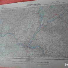 Mapas contemporáneos - ANTIGUO MAPA EDICION MILITAR.MEQUINENZA.ZARAGOZA 1952 - 163402662