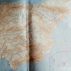 Mapas contemporáneos: ESPAÑA FÍSICA. MOD.7100. EDITORIAL TEIDE S.A. Lote 165088302