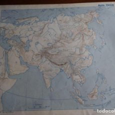 Mapas contemporáneos: ASIA FÍSICA. MOD. 7130. EDITORIAL TEIDE 1.964. Lote 165090174