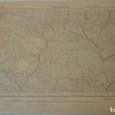 Mapas contemporáneos - ANTIGUO MAPA DE BISAURRI.HUESCA EDICION MILITAR 1953 - 165406234