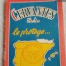 Mapas contemporáneos: 1963 MAPA DE ESPAÑA EDICIÓN ESPECIAL PARA CERVANTES S.A.. Lote 165710053
