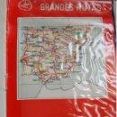 Mapas contemporáneos: GRANDES RUTAS CALLE CARRETERAS DE ESPAÑA Y PORTUGAL. GRANDES RUTAS. Lote 165710576