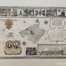 Mapas contemporáneos: MAPA TURÍSTICO DE MALLORCA CON GEORGE SAND Y CHOPIN. Lote 166852718