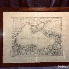 Mapas contemporâneos: GRABADO FRANCÉS DE TARDIEU CARTÓGRAFO MAPA MAR NEGRO PARÍS Nº 106 B S XIX. Lote 167649896