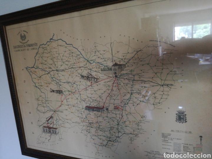 MAPA ENMARCADO DIUTACION DE SALAMANCA (Coleccionismo - Mapas - Mapas actuales (desde siglo XIX))