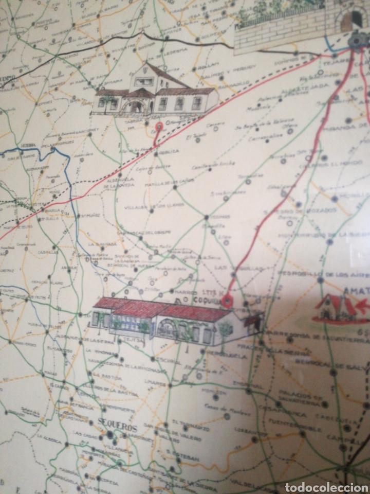 Mapas contemporáneos: MAPA ENMARCADO DIUTACION DE SALAMANCA - Foto 8 - 167686789