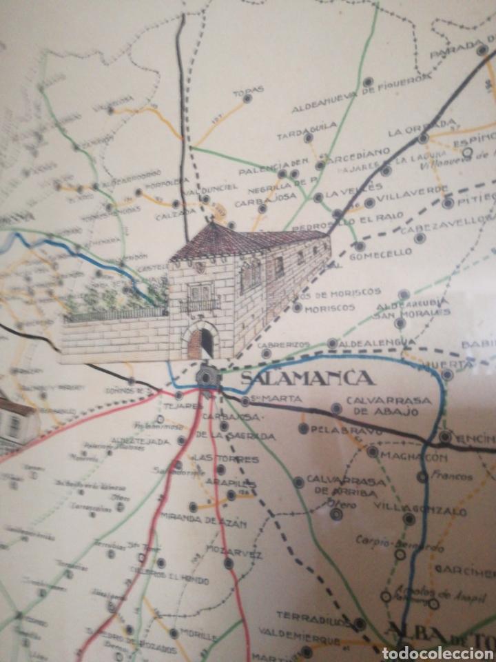 Mapas contemporáneos: MAPA ENMARCADO DIUTACION DE SALAMANCA - Foto 9 - 167686789