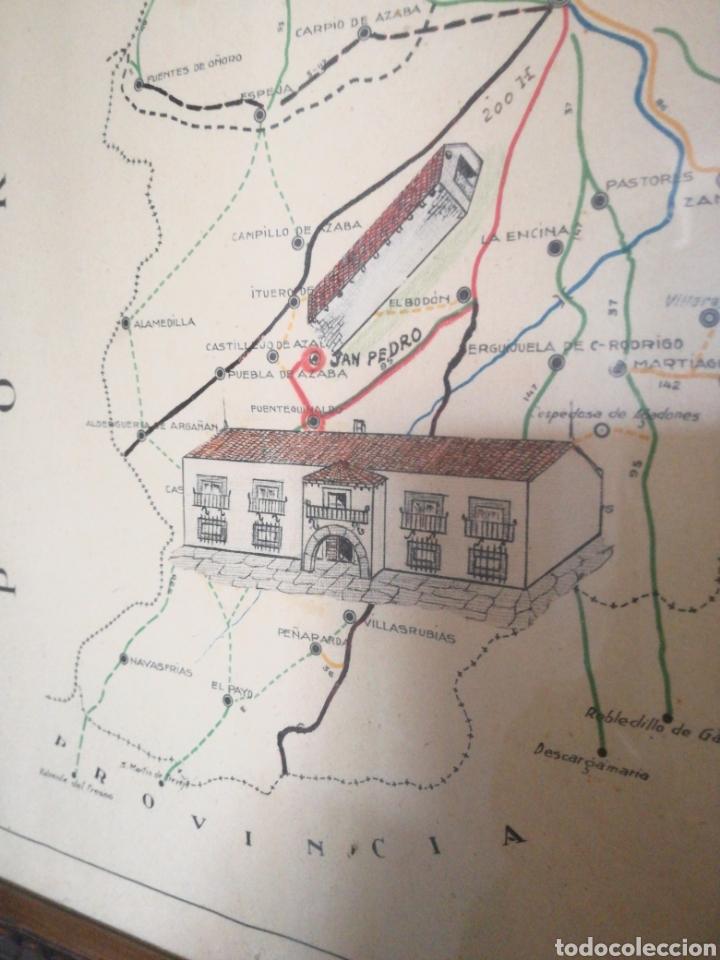 Mapas contemporáneos: MAPA ENMARCADO DIUTACION DE SALAMANCA - Foto 10 - 167686789