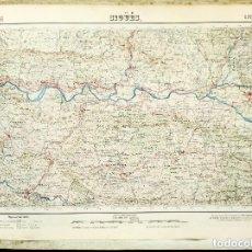 Mapas contemporáneos: MAPA (1952) SIGÜES (ZARAGOZA) - INSTITUTO GEOGRÁFICO Y CATASTRAL - VER DESCRIPCIÓN . Lote 168636520